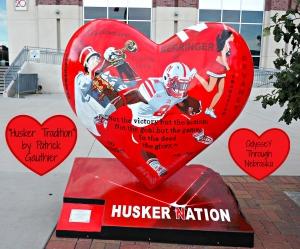 Nebraska by Heart Husker Hearts