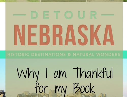 Thankful for my Book Writing Opportunity: Day 30 #DetourNebraska  Challenge