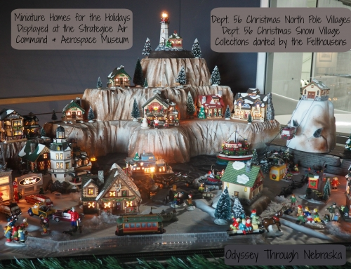 Christmas House Collection at Strategic Air Command and Aerospace Museum