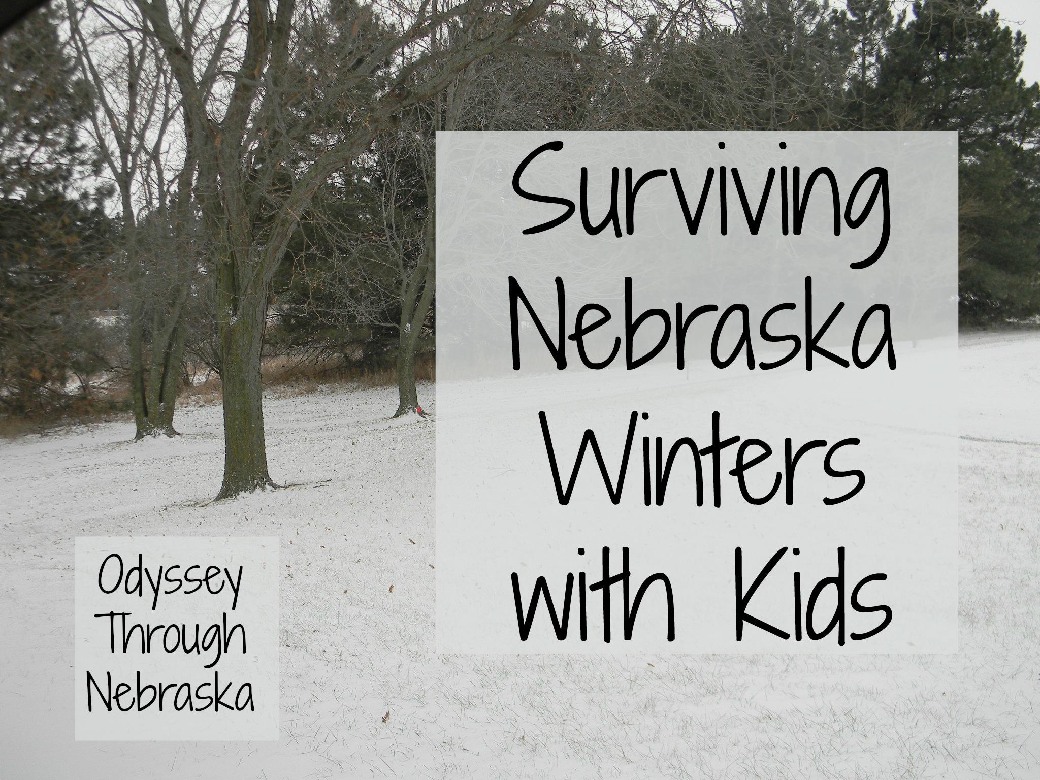 Surviving Nebraska winters with kids