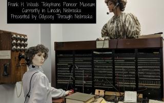 Telephones Displayed in Lincoln Nebraska