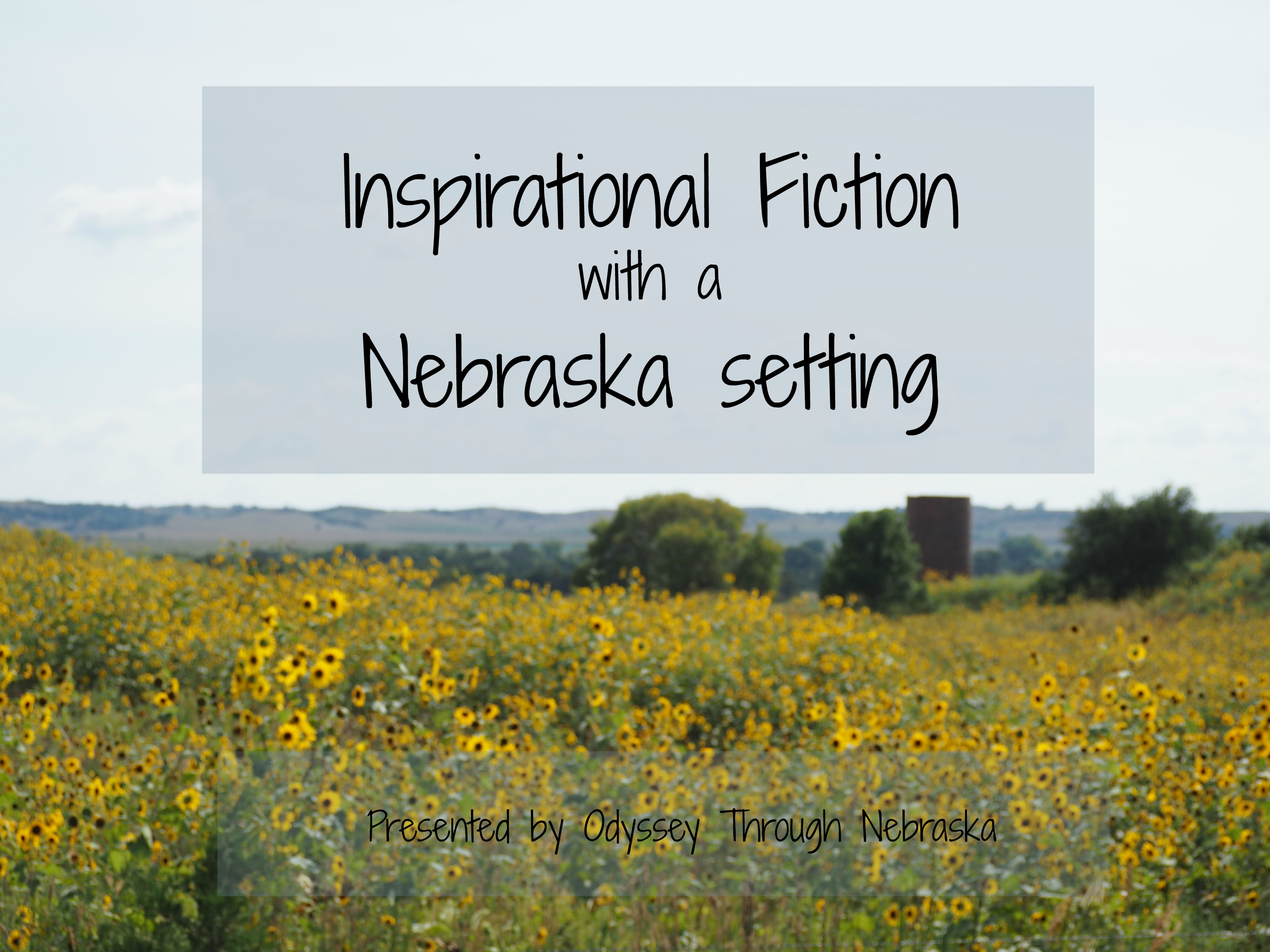 Inspirational Fiction with a Nebraska setting