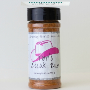 Steak Seasoning Story