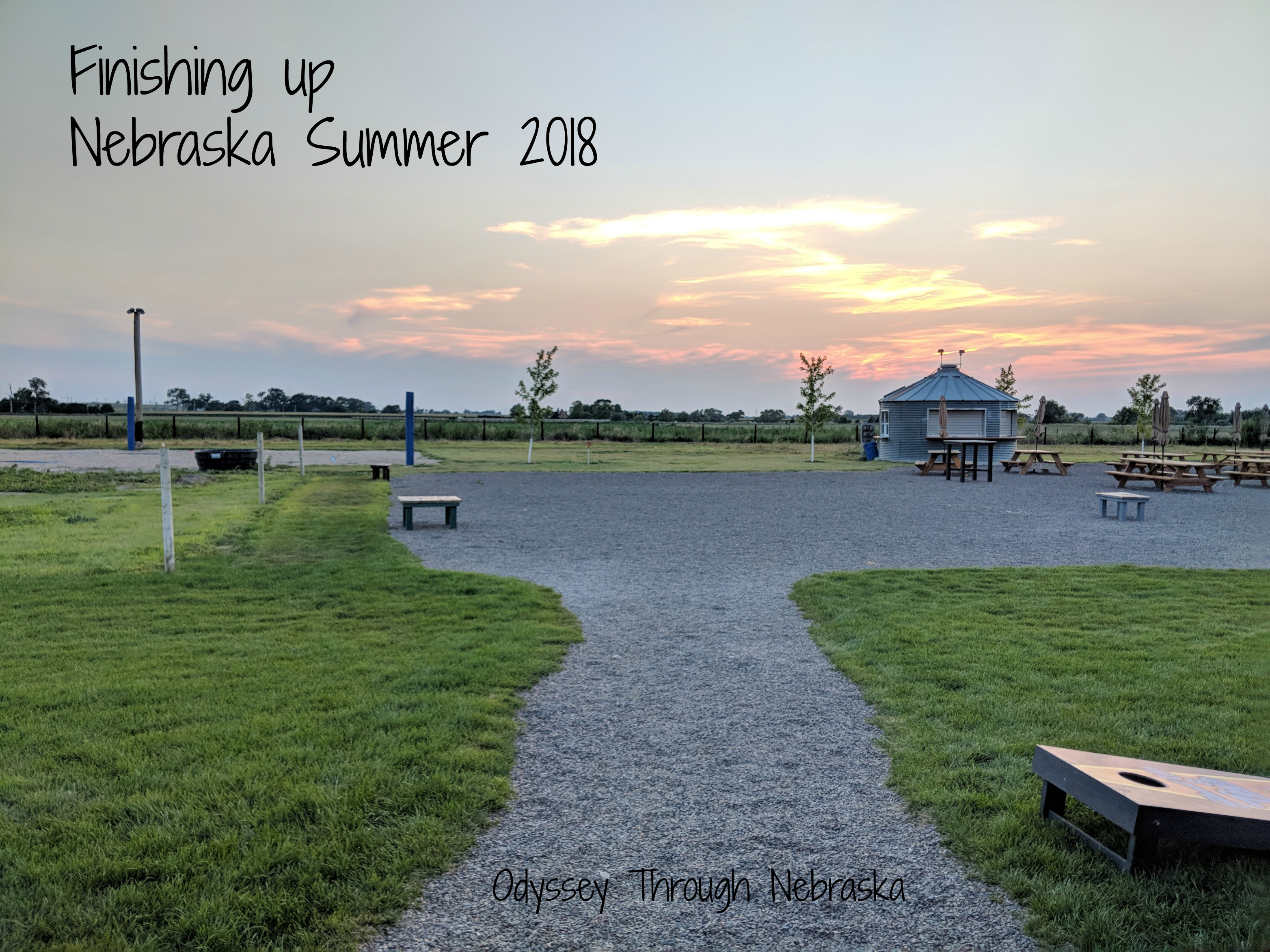Finishing up Nebraska Summer 2018