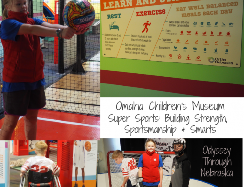 Super Sports at the Omaha Children's Museum