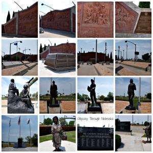 20th century veterans memorial in Nebraska