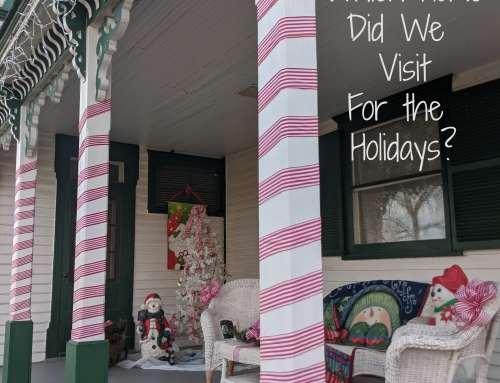 Wordless Wednesday: Where are we are home for the holidays?