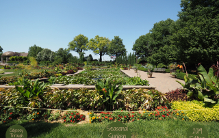 Sunken Gardens in Lincoln