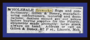 Buying fireworks in Lincoln